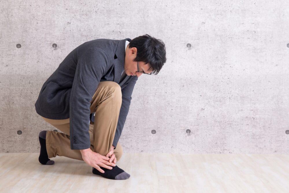 その足首の痛み、足根洞症候群かもしれません!