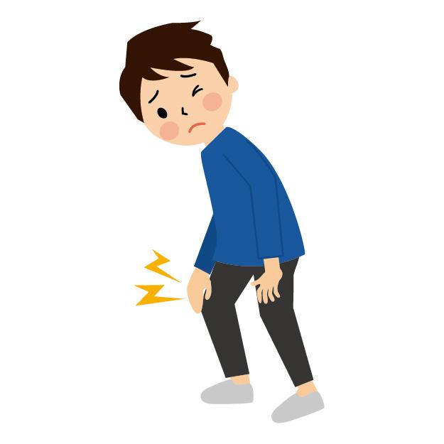 スポーツ中の方向転換で膝が痛い!!半月板損傷の可能性があるかも!?